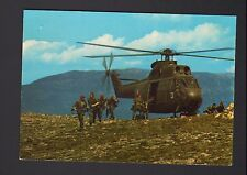 HELICOPTERE MILITAIRE / SA 330 PUMA en Exercice Militaire