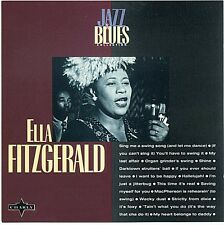 Ella Fitzgerald ‎CD Jazz & Blues Collection - France (M/M)