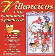 VILLANCICOS CON ZAMBOMBA Y PANDERETA CD DIVUCSA 1995