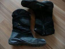 Ecco Stiefel WinterStiefel grau schwarz Wildleder Gr 30 Goretex
