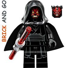 LEGO Minifig Figurine Star Wars SW650 Darth Maul + Sabre Lightsaber NEUF NEW