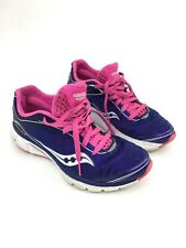 Women's  Saucony Kinvara 3 Size 6.5 Running Shoes Purple Pink Flex Film Progrid