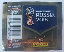 FIFA Worldcup Soccer Russia 2018 Panini Stickers, Set of 150 = 750 Stickers