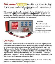 New T668D Intelligent Comprehensive Tester Battery Resistance, Capacity, Voltage