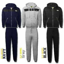 Cotton Blend Graphic Tracksuit Hoodies & Sweats for Men