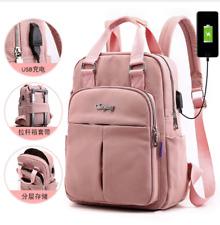 Leisure student computer charging bag backpack ladies large capacity travel bag