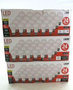 72 Pack Feit Electric A19 E26 (Medium) LED Bulb Warm White 60 Watt Equivalence