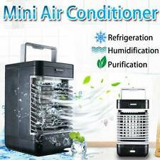 Portable Mini AC Air Conditioner Personal Cooling Fans Bedroom Air Cooler Fan US