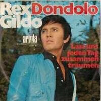 "Rex Gildo Dondolo 7"" Single Vinyl Schallplatte 34412"