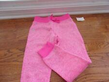 Rbx Girls Sweatpants Pink Snow Elastic Waist Band Draw String Small (7/8)