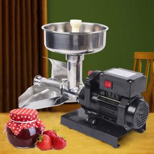 Elektro Tomaten-Saftpressen Tomaten-Presse Obstpresse Staumaschine 370W 220V DE