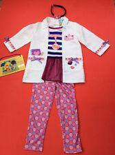 Disney Doc McStuffins Dress Up Costume Complete Outfit deluxe age 1/2 years