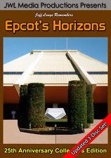 Walt Disney World Epcot Horizons 3 DVD Set FULL Rides All Endings, Bonus Footage