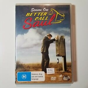 Better Call Saul: Season 1 | DVD TV Series | 2015 | Drama | Bob Odenkirk| Used