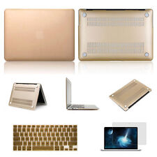 Champagne Gold Laptop Cover Case Keyboard Skin For Apple Mac Book Pro 15 15.4""