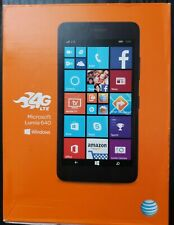 Microsoft Lumia 640 at&t network factory sealed NEW