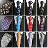 Men's Neckties Stylish Floral Paisley Tie JACQUARD WOVEN Neck Ties Wedding Party