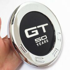 GT 50 YEARS Car Styling Rear Back ABS Emblem Sticker for Ford Mustang GT 2010 UP