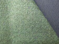 Helmbold Antikmohair, shabby, vintage --20 x 70 cm,dunkelgrün