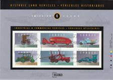 Canada 1996 Historic Vehicles Souvenir Sheet