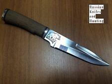 Bear knife handmade Combat Outdoor Hunting Zlatoust Russian new 58 hrc ZOF