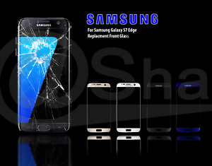 Front Replacement Samsung Galaxy S7 EDGE G935F Glass & Adhesive