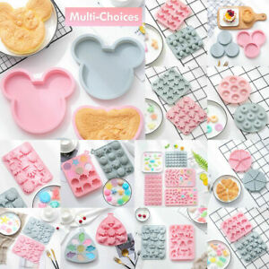 Silicone Baking Mould Cake Jelly Cookies Soap Mold Chocolate Tray Wax Ice Cube
