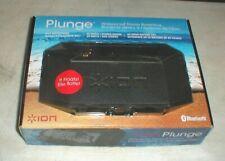 ION Audio PLUNGE Waterproof Bluetooth Stereo Boombox Speaker iSP56 in Box