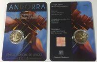 2 Euro Sondermünze Andorra 2018 : 25-jahre Verfassung von Andorra