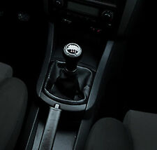 Genuine Leather Gear Shift Boot Gaiter Cover Sleeve fit Seat Ibiza 3 2002 - 2008