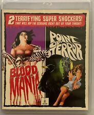 BLOOD MANIA POINT OF TERROR LIMITED EDITION BLU RAY DVD 3 DISC VINEGAR SYNDROME