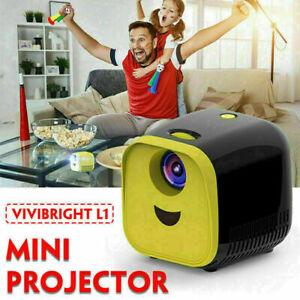 Mini Portable Pocket Projector HD 1080P LED Home Theater Video Projectors HDMI