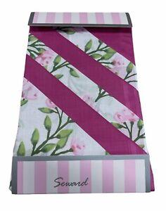 6x SEWARD Ladies Handkerchiefs Gift 100% COTTON Women's Hanky - Floral