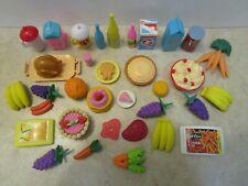 Barbie food mixed lot