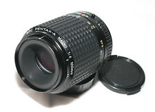 SMC Pentax A 100mm f/4 Macro lens for Pentax DSLR SLR K5 K7 K3 K30 K50 K20 etc