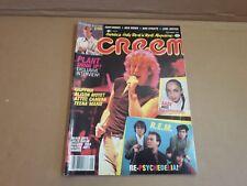 ROCK & ROLL HEAVY METAL MAGAZINE MUSIC CREEM SEPTEMBER 1985 ROBERT PLANT STING