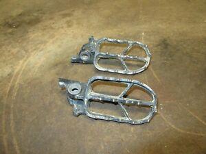 2020 CRF450R Footpegs OEM Foot Peg Pegs Set Black Honda CRF250R CRF450