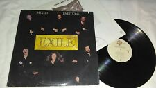 MIXED EMOTIONS / EXILE, PRODUCED BY MIKE CHAPMAN, Vinyl LP Album Record, Great!