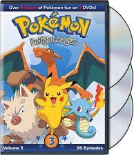 Pokemon: Season 1 - Indigo League Set 3 (2014, REGION 1 DVD New)
