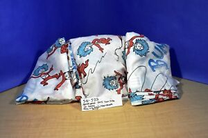 Northwest Dr Seuss Thing 1 & 2 Bump Twin Size 1 Fitted  2 Flat Sheets(510-522)