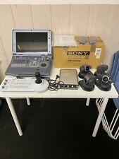 SONY AWS 500 completo telecamere mixer & control