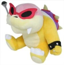 "1x New Nintendo Little Buddy 1345 Super Mario 6"" Roy Koopa Stuffed Plush Doll"