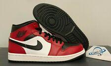 Nike Air Jordan 1 Mid Chicago Black Toe Gym Red 554724-069 Size 4-10