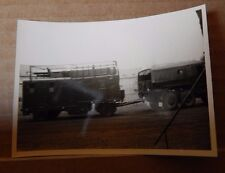 Military Photograph Vehicles at occupied German Base Caspari Kaserne 1946-50