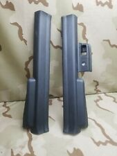 2004-2008 Acura TSX Front Door Sill Covers Trim Ebony OEM Original