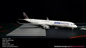Phoenix 1:400 Qatar Airways (QR) A350-1000 A7-ANE (One World Alliance)