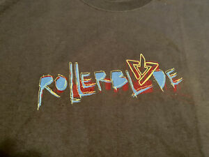 ROLLERBLADE VINTAGE T SHIRT, GREY WITH LOGOTYPE, NEW, 2XL