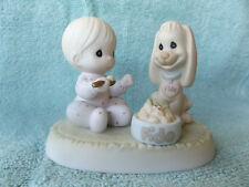 Precious Moments Sharing our Christmas Together Porcelain Figurine -1997-Retired