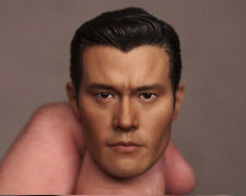 Custom 1/6 Scale Lee Byung-hun T1000 Head Sculpt For Hot Toys Figure Body