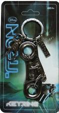 Tron Legacy Pewter Light Cycle Keyring - Sam Flynn Disney 2010 Key chain fob